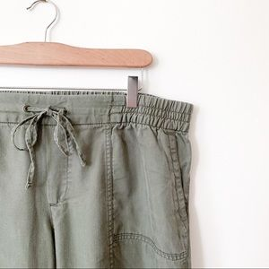 Green Joggers // Old Navy